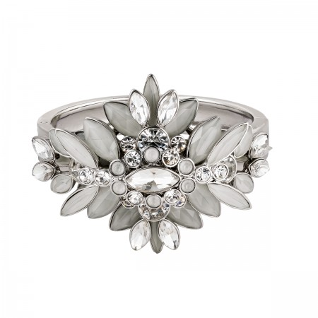 Sparkling Ice Flower Bracelet