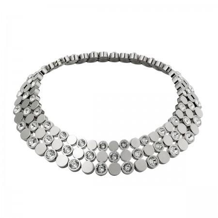 Triple Fascination Necklace (Silver)
