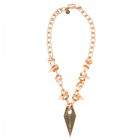 Thorn of a Rose Necklace
