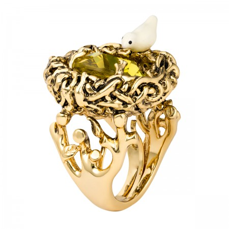 Lovebirds Nest Ring